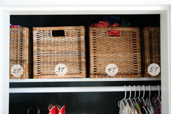 Baskets In Closet