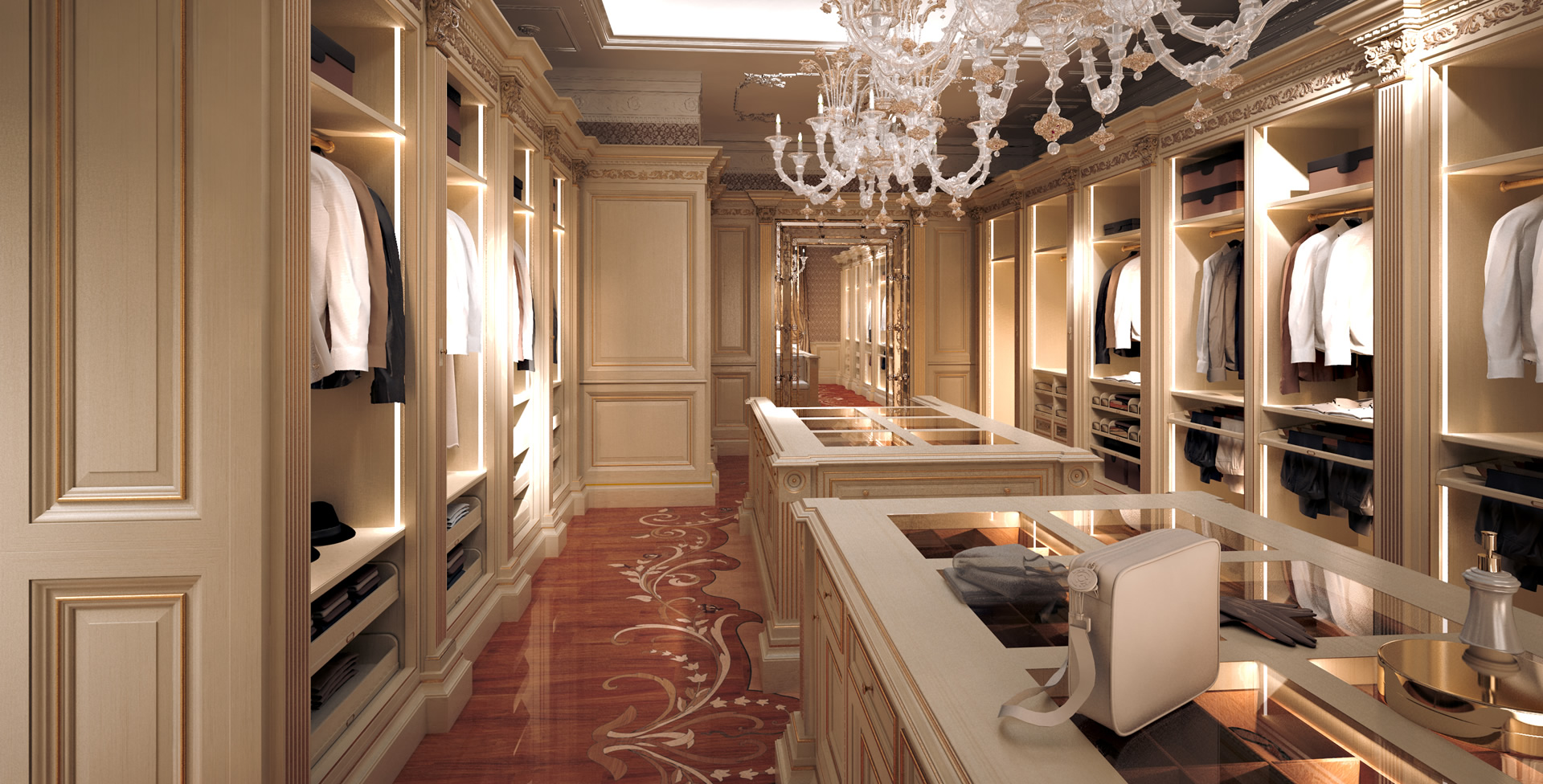 What do you want in your master closet space age closets for Master closet
